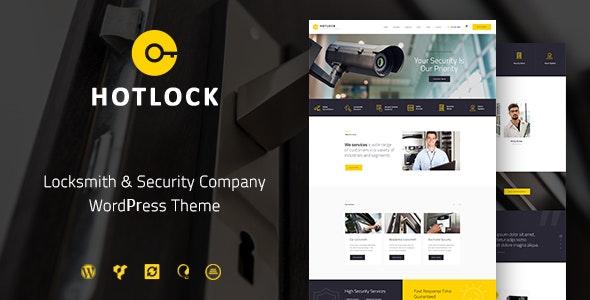 HotLock v1.2.3 — Locksmith & Security Systems WordPress Theme