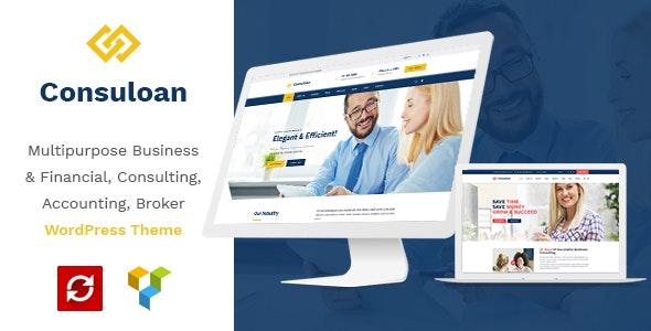 Consuloan v1.0.8 — Multipurpose Consulting WordPress Theme