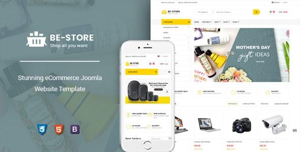 BeStore v1.0 — Multipurpose Joomla eCommerce Template