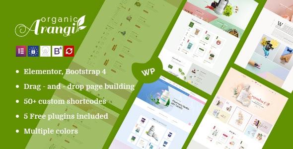 Arangi v1.3.3 — Organic WooCommerce Theme