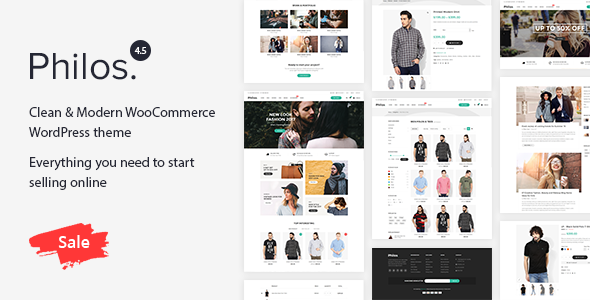 Philos v5.0 — Responsive WooCommerce WordPress Theme