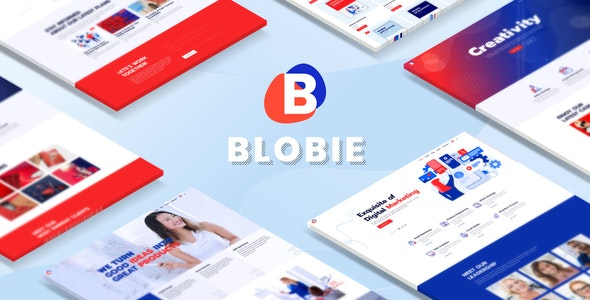 Blobie v1.1.1 — Multiconcept Creative WordPress Theme