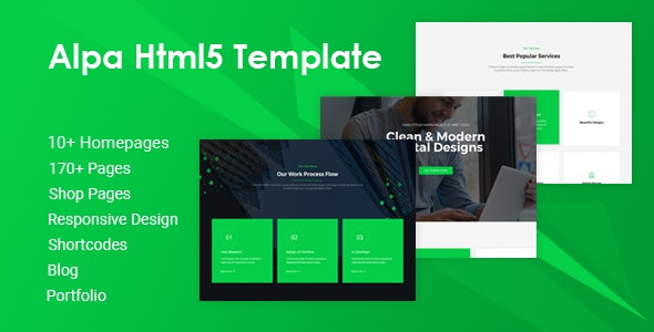 Alpa v1.0 — Responsive Multipurpose HTML5 Website Template