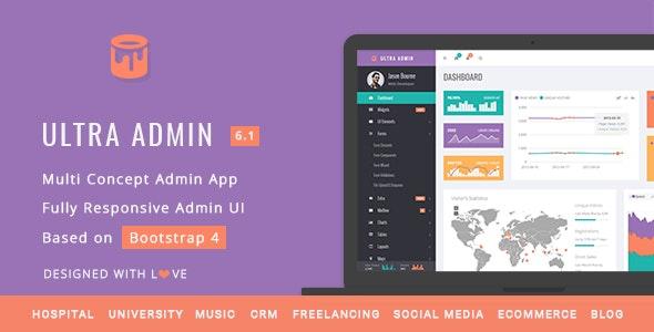 Ultra v6.1 — Multi Purpose Admin Theme