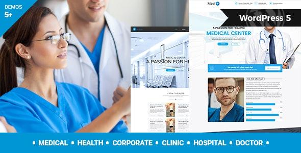 MedPlus v1.4 – Medical & Health WordPress Theme