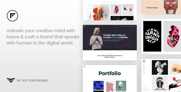 Fraxos v1.7.2 — Creative Portfolio WordPress Theme