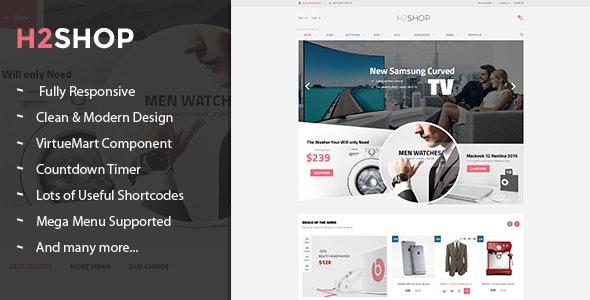 H2shop v3.9.6 — Responsive Multipurpose VirtueMart Theme