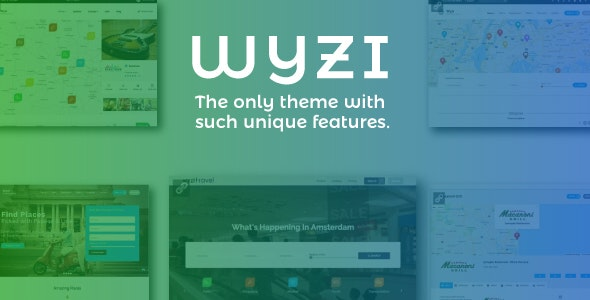 WYZI v2.4.0 — Social Business Finder Directory Theme