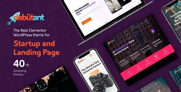 Debutant v1.0.7 — Landing Page WP theme