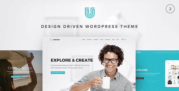 Unicon v2.7.1 — Design-Driven Multipurpose Theme