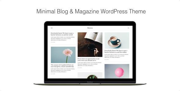 Maxima v1.2.4 — Minimal Blog & Magazine WordPress Theme