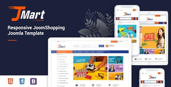JMart v1.0.0 — Multipurpose JoomShopping eCommerce Joomla Template