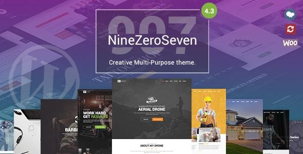 907 v4.3.3 — Responsive Multi-Purpose Theme