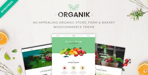 Organik v2.7.9 — An Appealing Organic Store