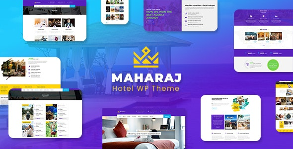 Maharaj Tour v1.8 — Hotel, Tour, Holiday Theme
