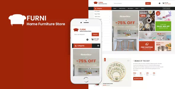 Furni v3.9.6 — Responsive Furniture VirtueMart 3 Template