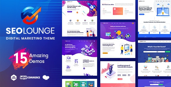 SEOLounge v2.2.2 — SEO Agency WordPress Theme
