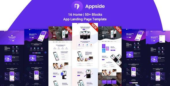 Appside v1.0 — App Landing Page