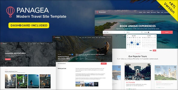 Panagea v1.5 — Travel and Tours listings template
