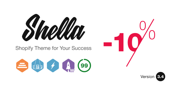 Shella v3.4.3 — Multipurpose Shopify theme, fastest with the banner builder