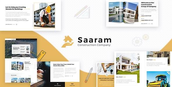 Saaram v1.3 — Architect WordPress
