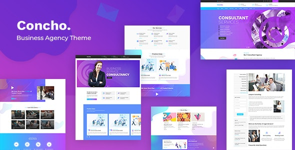 Concho v1.3 — HR, Consulting Services WordPress Theme
