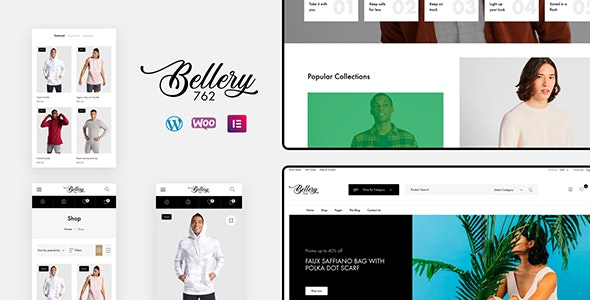 Bellery v1.0.4 — Modern & Minimal WooCommerce Theme