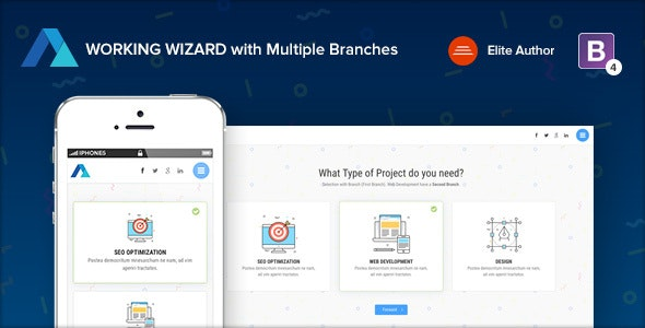 Steps v1.3 — Multipurpose Working Wizard with Branches