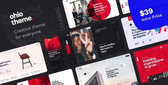 Ohio v1.0.2 — Creative Portfolio & Agency WordPress Theme