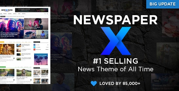 Newspaper v10.3 — WordPress News Theme