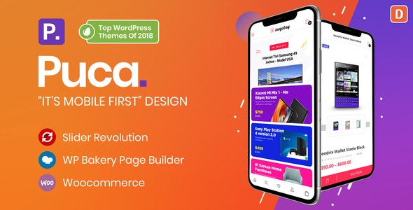 Puca v1.5.8 — Optimized Mobile WooCommerce Theme