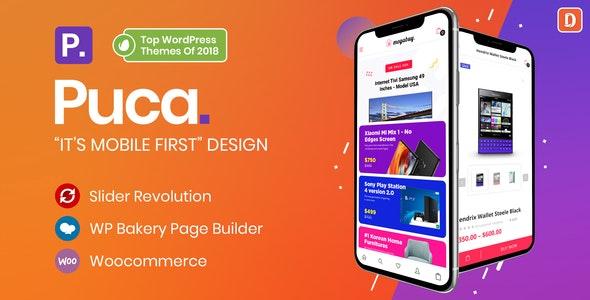 Puca v1.5.8 — Optimized Mobile WooCommerce Theme