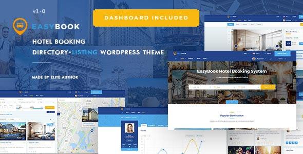 EasyBook v1.2.5 — Directory & Listing WordPress Theme