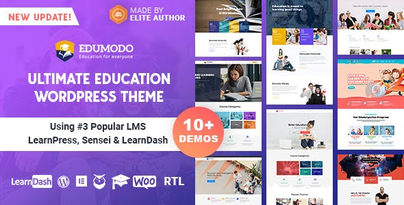 Edumodo v3.0.0 — Education WordPress Theme