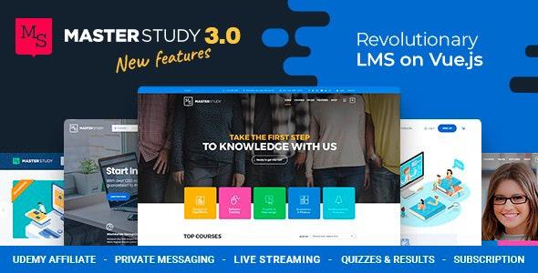 Masterstudy v3.0.8 — Education Center WordPress Theme