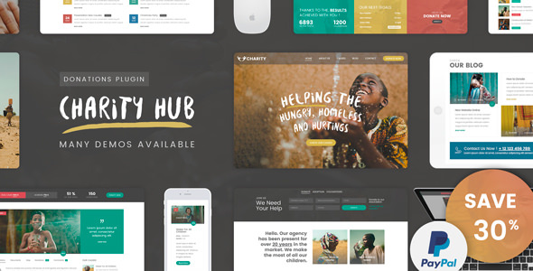 Charity Foundation v1.7 — Charity Hub WP Theme