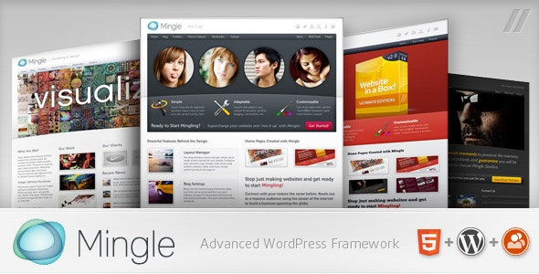 Mingle v1.8.6 — Multi-purpose WordPress Theme