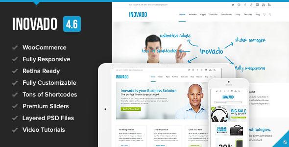 Inovado v4.6.9 — Retina Responsive Multi-Purpose Theme