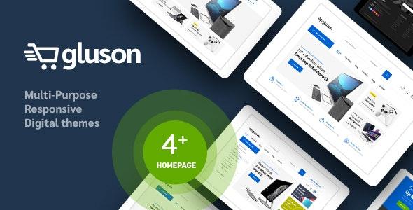 Gluson v1.0 — Digital Theme for WooCommerce WordPress