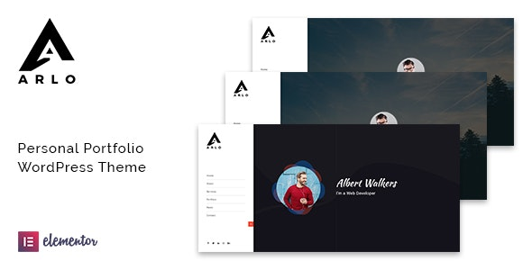 Arlo v1.8 — Portfolio WordPress Theme