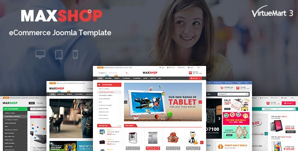 Maxshop v3.9.6 — Multipurpose eCommerce Joomla Template