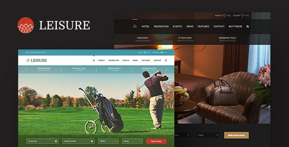 Hotel Leisure v2.1.14 — Hotel WordPress Theme