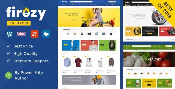 Firezy v1.0 — Multipurpose WooCommerce Theme (7 February 2020)