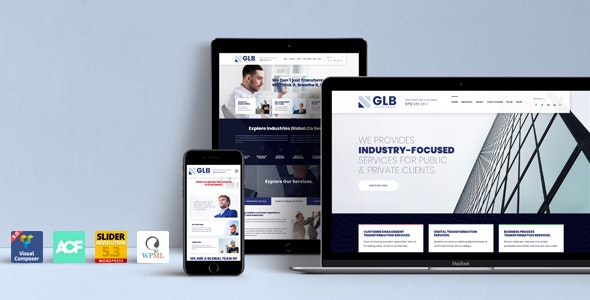 Glb v1.0.19 — Responsive Multi-purpose WordPress Theme