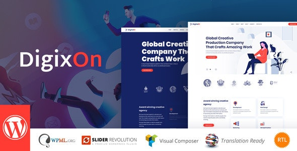 Digixon v1.5 — Digital Marketing Strategy Consulting WP Theme