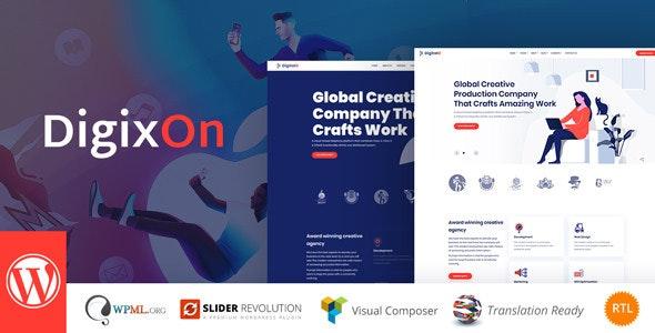Digixon v1.5 — Digital Marketing Strategy Consulting WP Theme