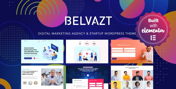 Belvazt v1.2.33 — Digital Marketing Agency WordPress Theme