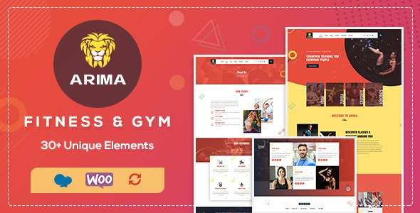 Arima v1.3 — Gym, Boxing WordPress Theme