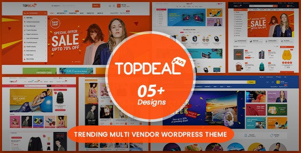 TopDeal v1.7.0 — Multipurpose Marketplace WordPress Theme