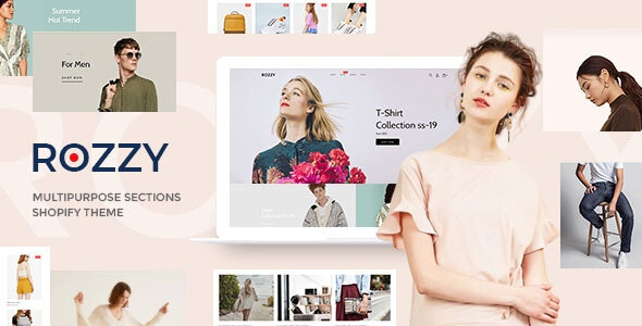 Rozzy v1.0.0 — Multipurpose Shopify Sections Theme